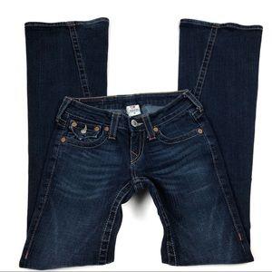 True Religion Joey Jeans Sz 25 Style 10-503
